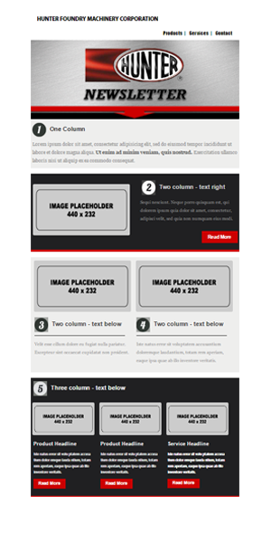Dreamweaver for Dreamweaver newsletter templates